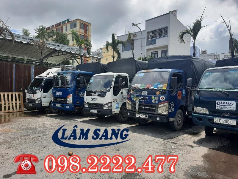Dịch vụ vận tải Lâm Sang TPHCM