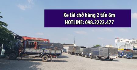 Xe tải chở hàng 2 tấn 6m