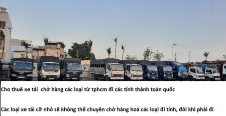 Cho thuê xe tải chở hàng 6m vào thành phố
