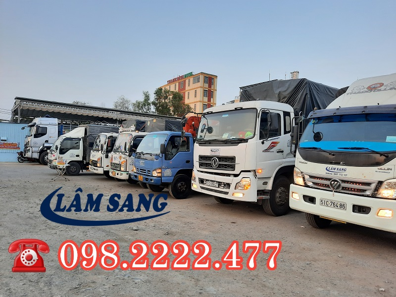 Cho thuê xe tải 5 tấn chở hàng