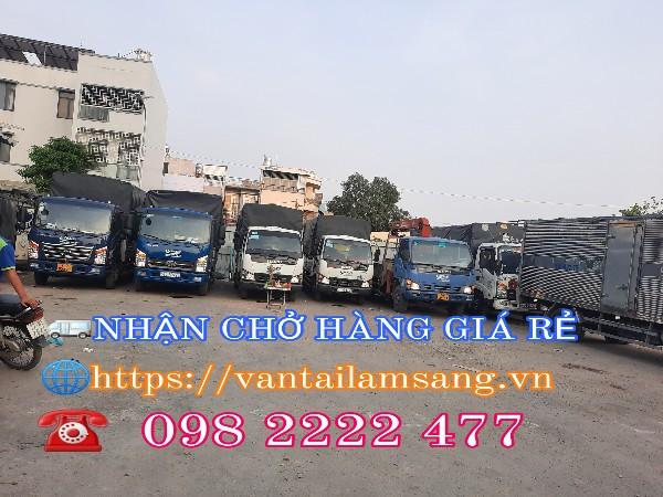 Dịch vận chuyển hàng hóa TpHCM-vận tải Lâm Sang