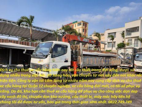 Xe cẩu hàng-vận tải Lâm Sang