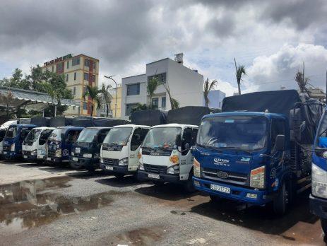 Cho thuê Xe tải chở hàng giá rẻ-vận tải Lâm Sang
