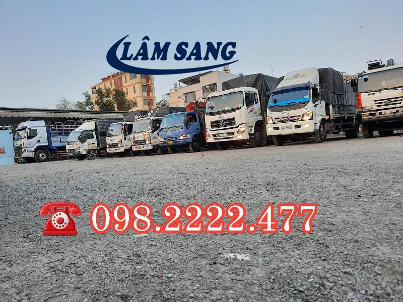 Thuê xe tải chở hàng rẻ nhất Hồ Chí Minh - Vận tải Lâm Sang