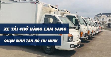 Xe tải chở hàng Quận Bình Tân Lâm Sang tại Hồ Chí Minh