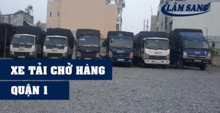 Xe tải chở hàng quận 1 Lâm Sang tại Hồ Chí Minh