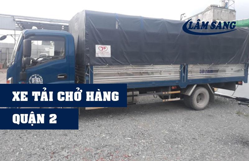 Xe tải chở hàng quận 2 Lâm Sang tại Hồ Chí Minh