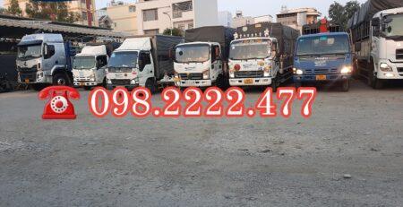 Cho thuê xe tải chở hàng KCN Vĩnh Lộc