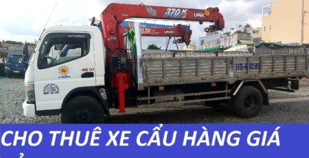 Xe cẩu hàng huyện Hóc Môn