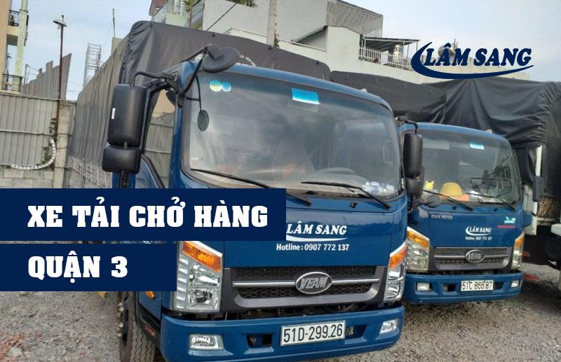 Xe tải chở hàng Quận 3 Lâm Sang tại Hồ Chí Minh