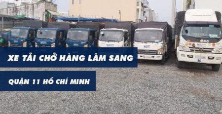 Xe tải chở hàng Quận 11 Lâm Sang tại Hồ Chí Minh