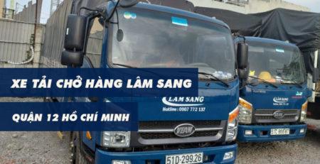Xe tải chở hàng Quận 12 Lâm Sang tại Hồ Chí Minh