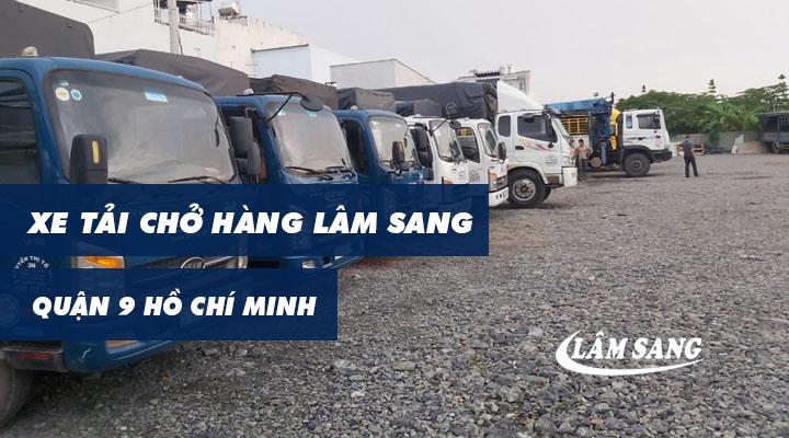 Xe tải chở hàng quận 9 Lâm Sang tại Hồ Chí Minh