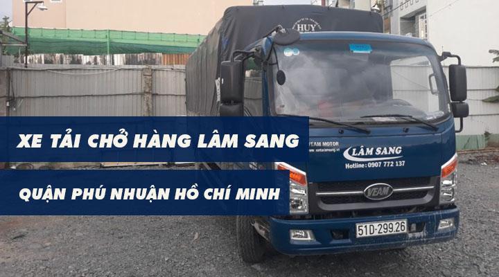 Xe tải chở hàng Quận Phú Nhuận Lâm Sang tại Hồ Chí Minh