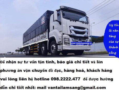 Cho thuê xe tải chở hàng TPHCM