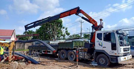 Cho thuê xe cẩu hàng tại Quận Phú Nhuận