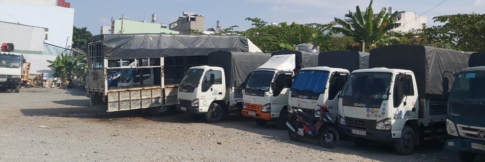 cho thuê xe tải chở hàng tại Quận Thủ Đức