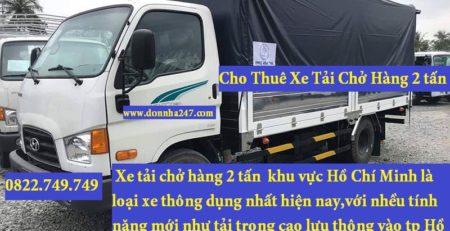 Lâm Sang – công ty vận tải chuyên cung cấp dịch vụ cho thuê xe tải chở hàng tại huyện Cần Giờ.