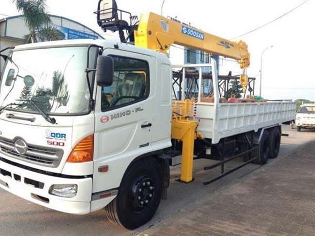Cho thuê xe cẩu hàng tại Đồng Nai – công ty Lâm Sang