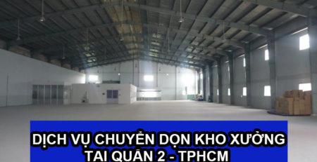 Chuyển dọn kho xưởng tại Quận 2 – Lâm Sang
