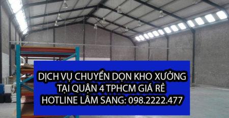 Công ty chuyển dọn kho xưởng tại Quận 5 – Lâm Sang