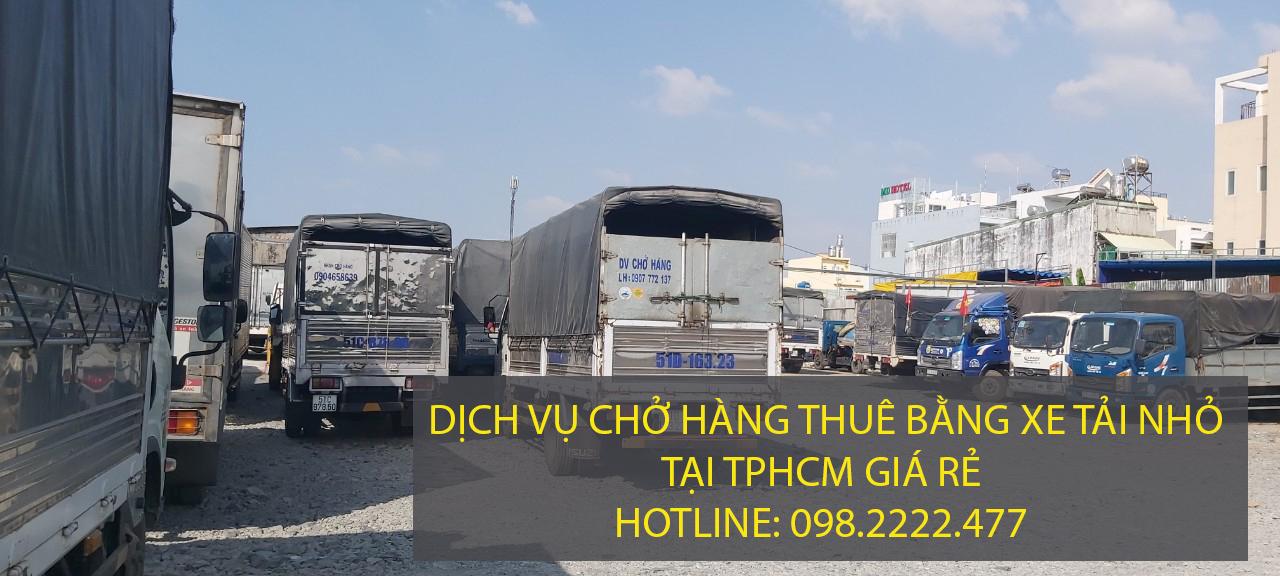 Dịch vụ chở hàng thuê xe tải nhỏ giá rẻ