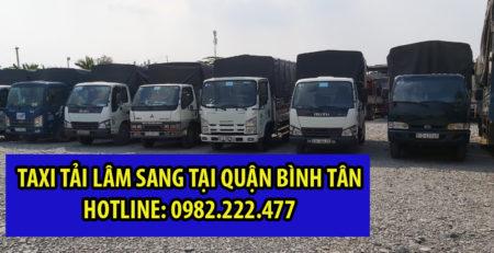 Taxi tải Lâm Sang lâm sang Quận Bình Tân giá rẻ và uy tín