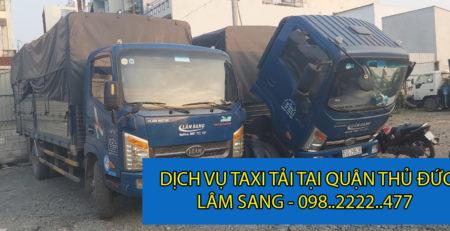 Taxi tải Lâm Sang Quận Thủ Đức giá rẻ và uy tín