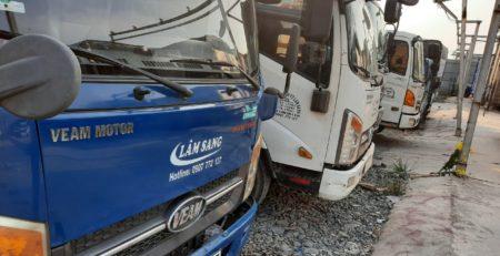 Thuê xe tải chở hàng quần áo tại tphcm giá rẻ - Vận tải Lâm Sang