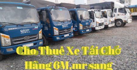 Cho thuê xe tải chở hàng 6m tại Quận Bình Tân