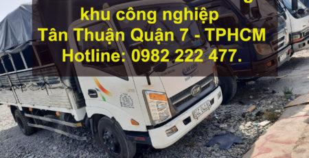 Cho thuê xe tải chở hàng khu công nghiệp Linh Trung Quận Thủ Đức – TPHCM