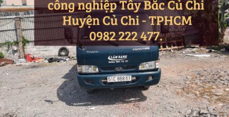 Cho thuê xe tải chở hàng tại KCN Tây Bắc Củ Chi – TPHCM