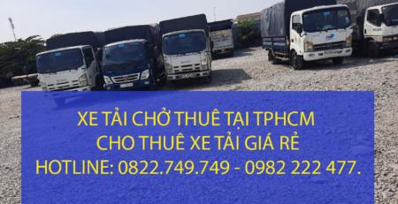 Cho thuê xe tải chở hàng tại khu vực bến xe Miền Đông – Quận Bình Thạnh