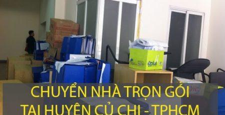 Chuyển nhà trọn gói tại huyện Củ Chi – công ty Lâm Sang