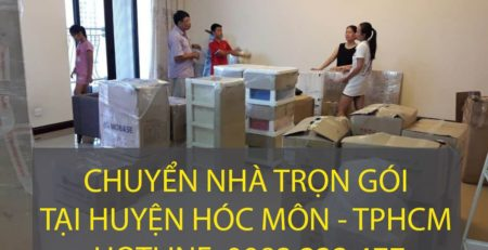 Chuyển nhà trọn gói tại Huyện Hóc Môn - Lâm Sang