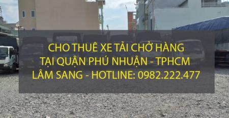 Dịch vụ cho thuê xe tải tại quận Phú Nhuận – công ty vận tải Lâm Sang.