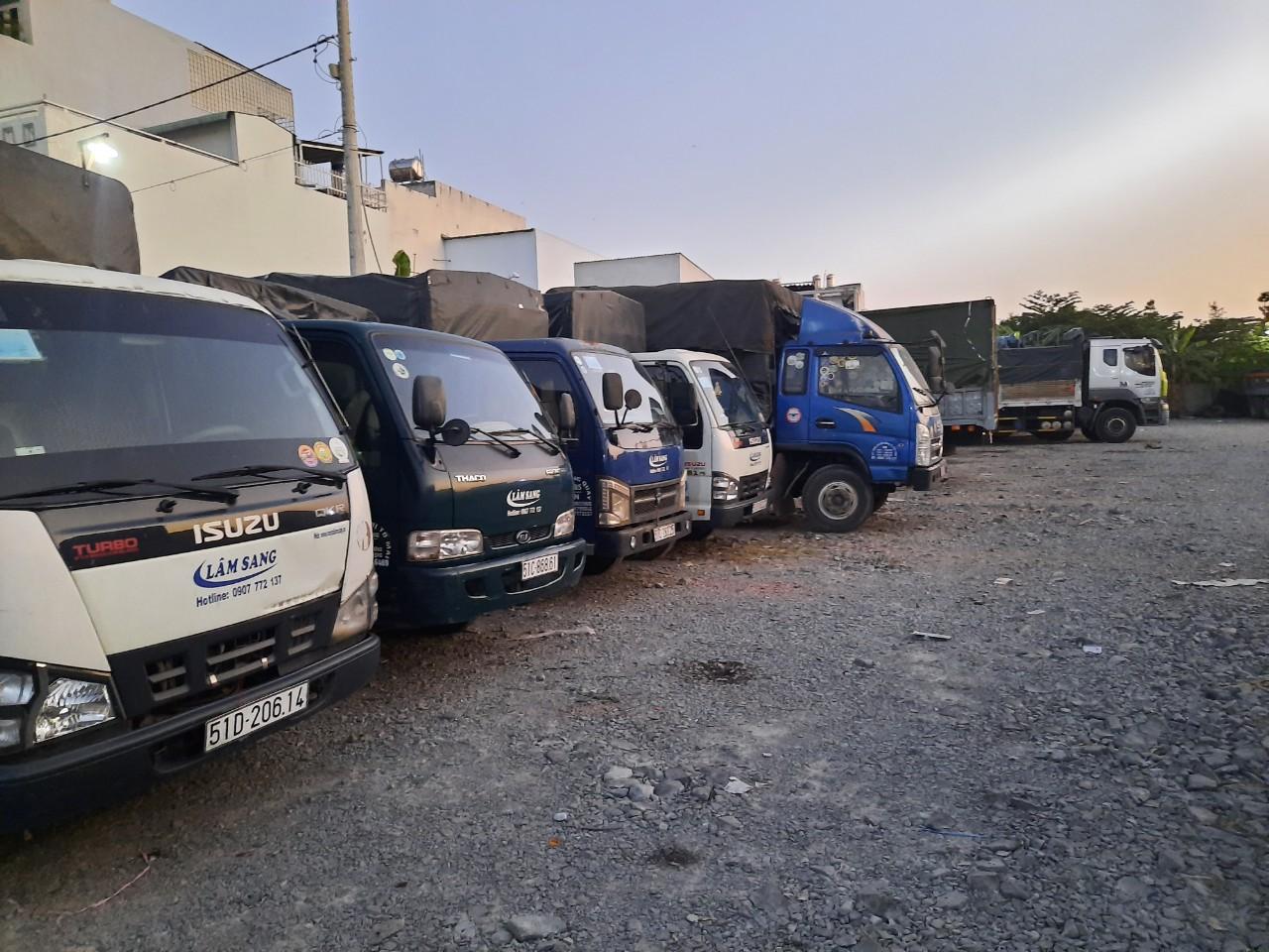 Kích thước thùng xe tải chở hàng 1.7 tấn 1.9 tấn 2 tấn 2.4 tấn