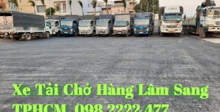 Cho thuê xe tải chở hàng 8 tấn thùng dài 9m5