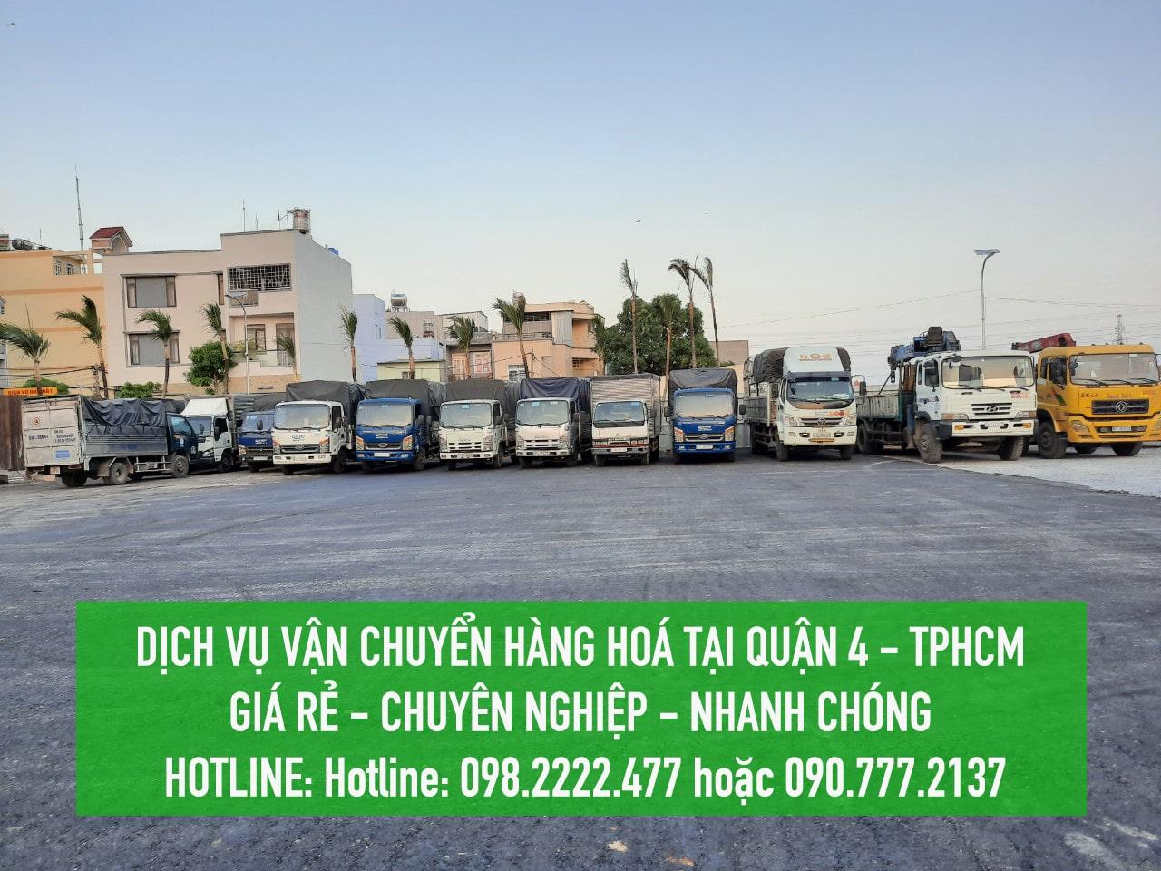Dịch vụ vận chuyển hàng hoá Quận 4 GIÁ RẺ - Lâm Sang