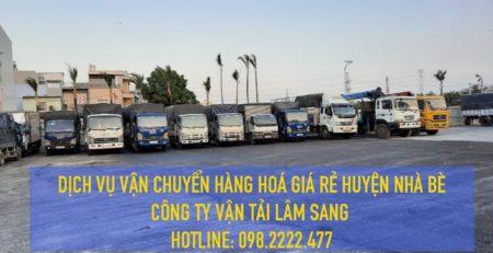 Dịch vụ vận chuyển hàng hoá giá rẻ Huyện Nhà Bè