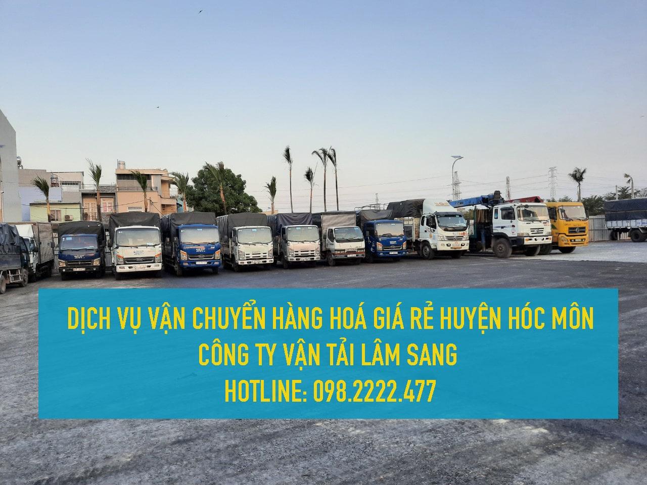 Dịch vụ vận chuyển hàng hoá giá rẻ tại Huyện Hoá Môn