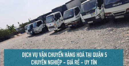Dịch vụ vận chuyển hàng hoá Quận 5 GIÁ RẺ - Lâm Sang