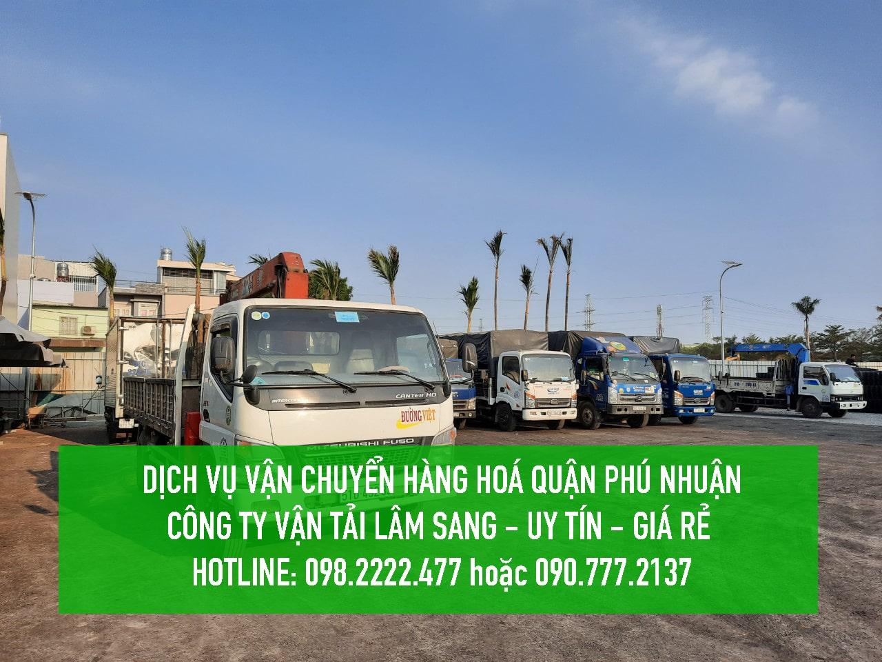 Dịch vụ vận chuyển hàng hoá Quận 9 – Vận tải Lâm Sang