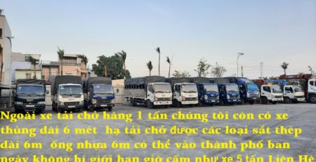 Dịch vụ vận chuyển hàng hoá tại Quận Thủ Đức giá rẻ