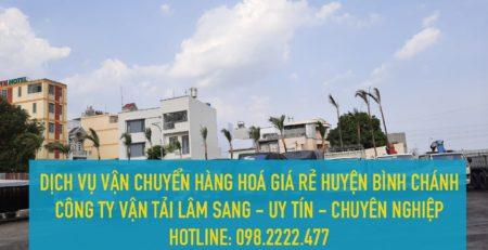Dịch vụ vận chuyển hàng hoá giá rẻ tại huyện Bình Chánh