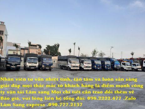 Taxi tải Quận 9-Vận tải Lâm Sang