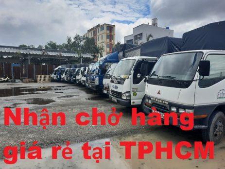 Nhận chở hàng giá rẻ tại TPHCM