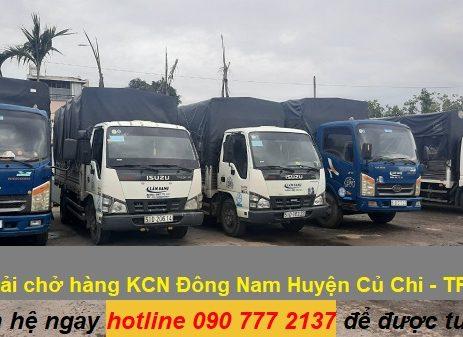 Xe tải chở hàng KCN Đông Nam Huyện Củ Chi - TPHCM