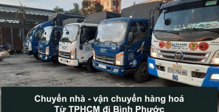 Vận Chuyển Hàng Hoá – Chuyển Nhà TPHCM đi Bình Phước