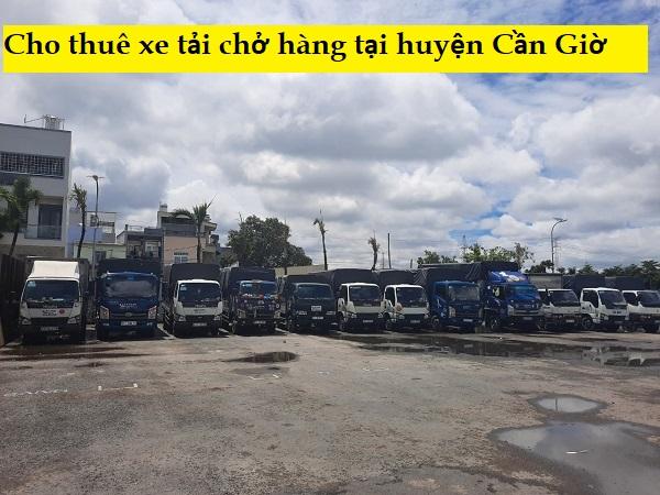 Cho thuê xe tải chở hàng huyện Cần Giờ
